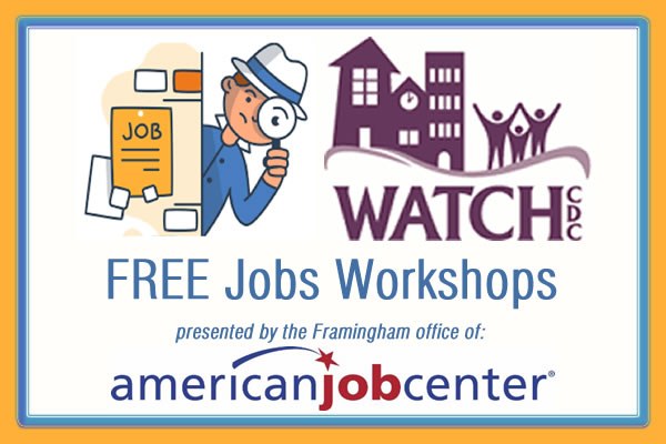 FREE Job Workshops presented by American Job Center