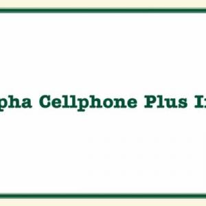 Alpha Cellphone Plus Inc Business Services · Shopping & Retail
