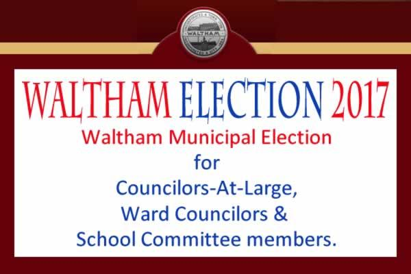 Waltham Municipal Election