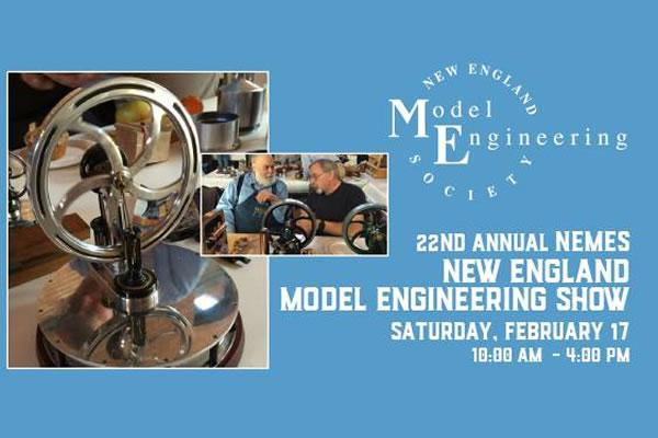 22nd Annual NEMES New England Model Engineering Show at Charles River Museum