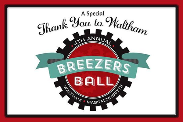 Created as a thank you to Waltham from its 'breezers'—people who've moved into town from elsewhere—the Ball has proved to be a popular event at which folks can dress up and dance and have fun at the end of winter. Everyone who loves Waltham is invited, breezers and especially natives! Tickets are $50.