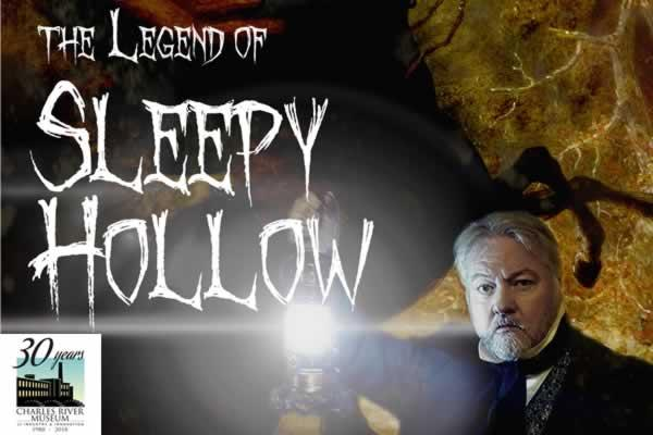 "Charles River Museum of Industry and Innovation presents A Telling of ""The Legend of Sleepy Hollow"""