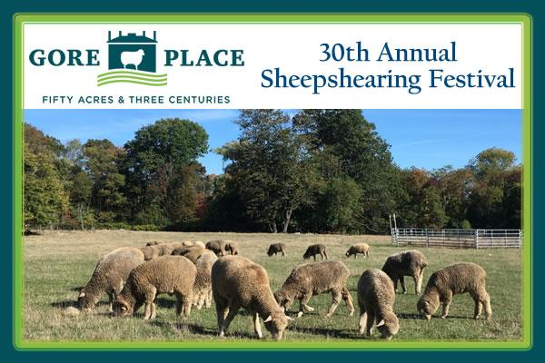 Gore Place 30th Annual Sheepshearing Festival