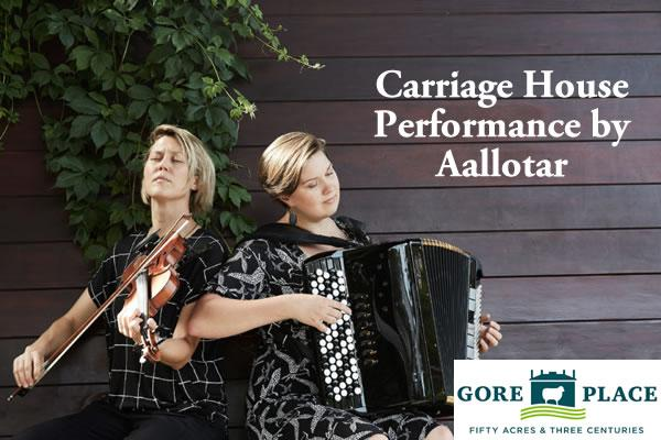 In Concert at Gore Place Carriage House: Aallotar