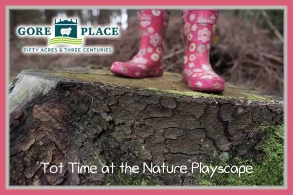Tot Time at the Nature Playscape