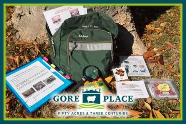 All Month Long: Gore Place Take A Walk Archaeology Activity for Kids