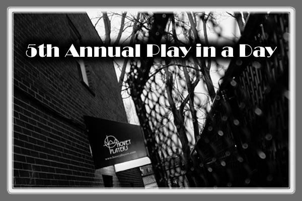 Hovey Players 5th Annual Play in a Day Festival