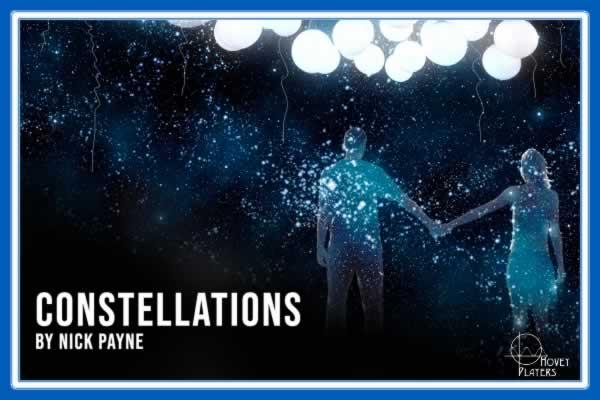 Hovey Players presents Constellations by Nick Payne