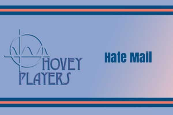 "Hovey Players presents Bill Corbett and Kira Obolensky's ""Hate Mail"""