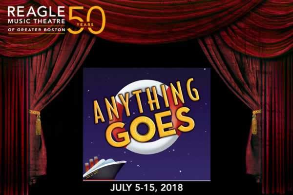 "Reagle Music Theatre of Greater Boston presents ""Anything Goes"""