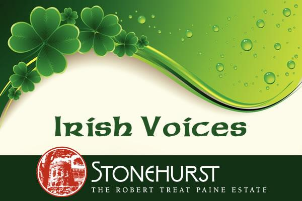 Irish Voices: A Performance by Stephen Collins at Stonehurst The Robert Treat Paine Estate