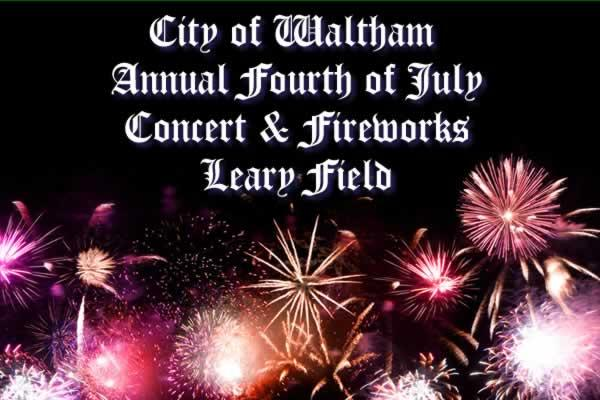 City of Waltham Annual 4th of July Concert & Fireworks