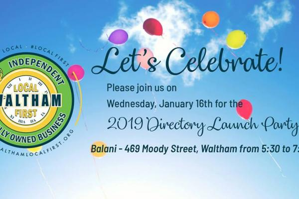 Waltham Local First's 5th Anniversary & 5th Directory Launch Party