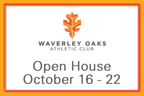 Waverley Oaks Athletic Club Open House Week