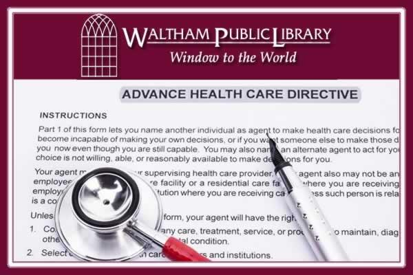 Waltham Public Library Lecture: Making Decisions When it Matters Most with Care Dimensions