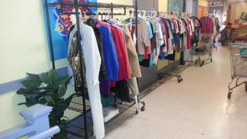 Clearance Sale at Waltham Clothing Exchange