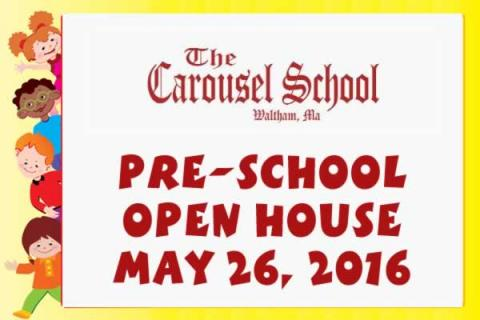 The Carousel School Preschool Open House