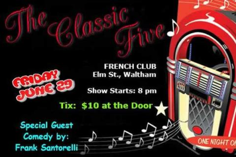 The Classic Five — One Night Only! French American Victory Club