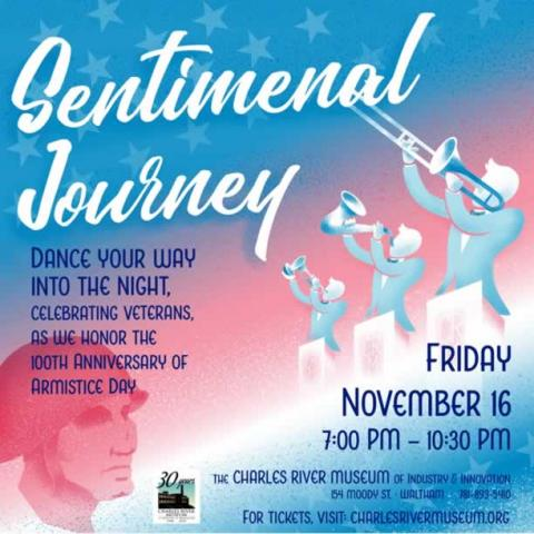 Charles River Museum of Industry & Innovation: Sentimental Journey - A Big Band Dance Party Celebration