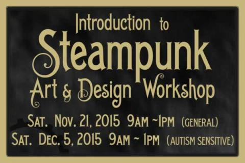 CRMII: Introduction to Steampunk - an Art & Design Workshop