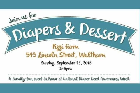 3rd Annual Diapers & Dessert at Pizzi Farm Ice Cream