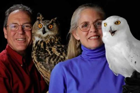 """Eyes on Owls of the World"" Children's Program brought to you by the Waltham Land Trust."