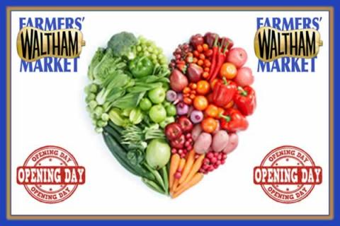 Waltham Farmers' Market Season Opening Day with Brad Faucher in Concert!