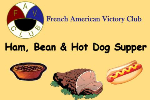 French American Victory Club Ham, Bean & Hot Dog Supper