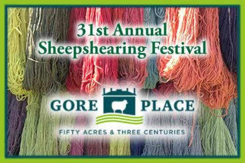 The Gore Place 31st Annual Sheepshearing Festival