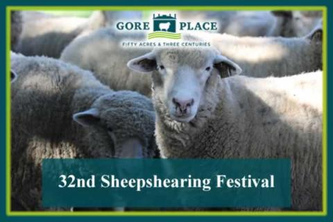 Gore Place 32nd Sheepshearing Festival