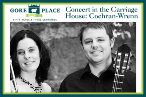 Gore Place Concert in the Carriage House: Cochran-Wrenn