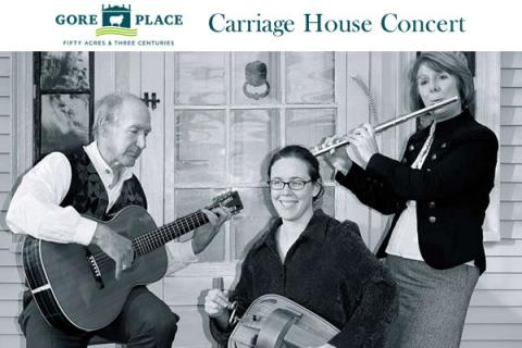 Gore Place Carriage House Concert: O'Carolan Etcetera