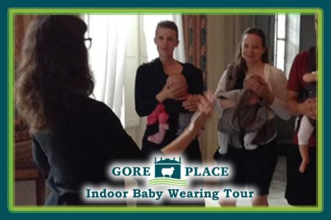 Indoor Front-Carry Babywearing Tour