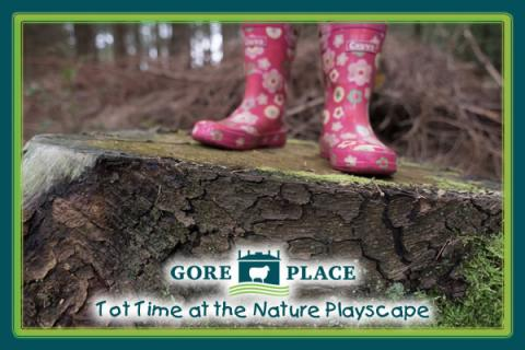 Gore Place Tot Time at the Nature Playscape