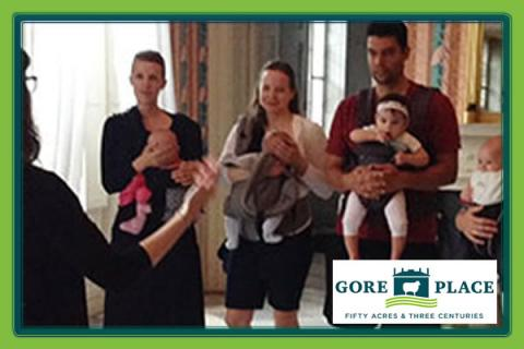 Gore Place Indoor Front-Carry Babywearing Tour