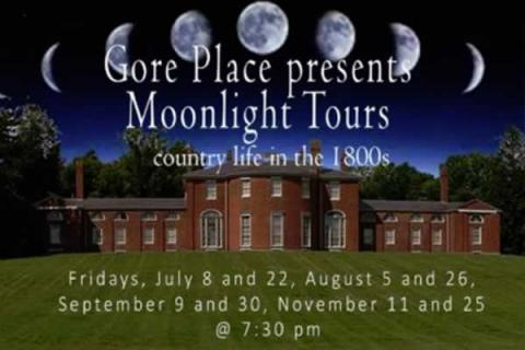 Gore Place: Moonlight Tour of the Mansion