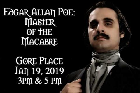 Gore Place presents Edgar Allan Poe: Master of the Macabre