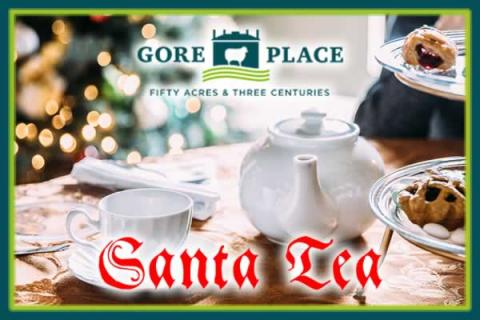 Santa Tea at Gore Place