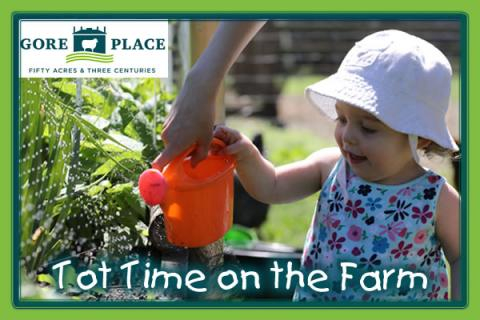 Gore Place Tot Time on the Farm - Last One of the Season!