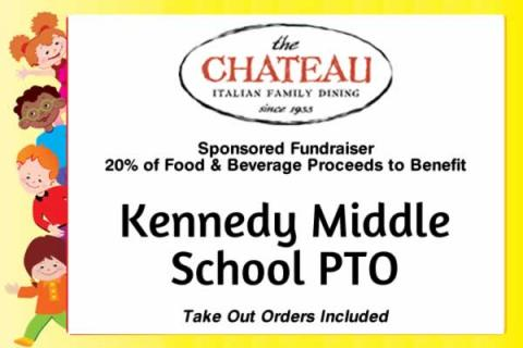 Kennedy Middle School PTO Fundraiser at Chateau Waltham!