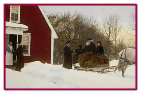 Lyman Estate: The Spirit of Christmas Past: Four Centuries of Christmas in New England