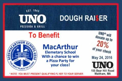 Dough Raiser for MacArthur Elementary with an Added Bonus!