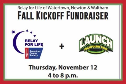 Relay For Life Fall Kick Off Fundraiser Launch Trampoline Park