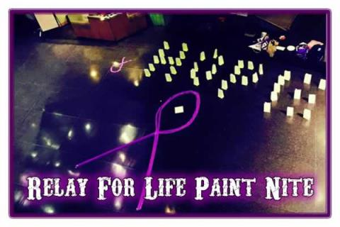 Brandeis University's Relay For Life Paint Nite