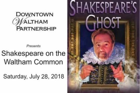 Shakespeare on the Waltham Common presented by Downtown Waltham Partnership