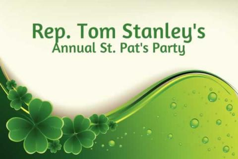 Rep. Tom Stanley's Annual St. Pat's Party