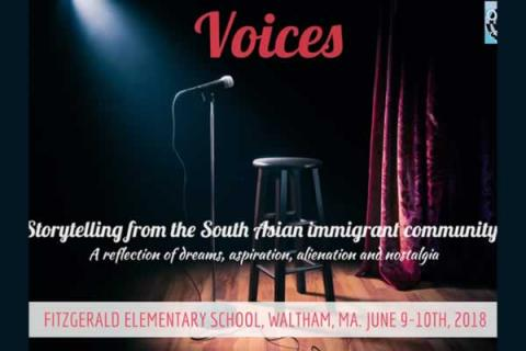Voices: Storytelling from the South Asian Immigrant Community