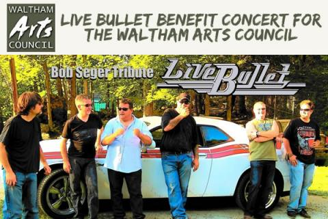 Live Bullet Concert to benefit the Waltham Arts Council