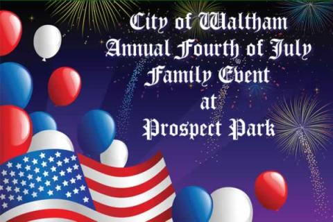 Waltham Fourth of July Family Event at Prospect Hill Park