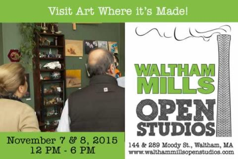 39th Annual Waltham Mills Open Studios